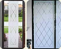 orleans decorative vinyl window film - Decorative Window Film